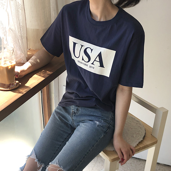 sale : USA t-shirt [아이]